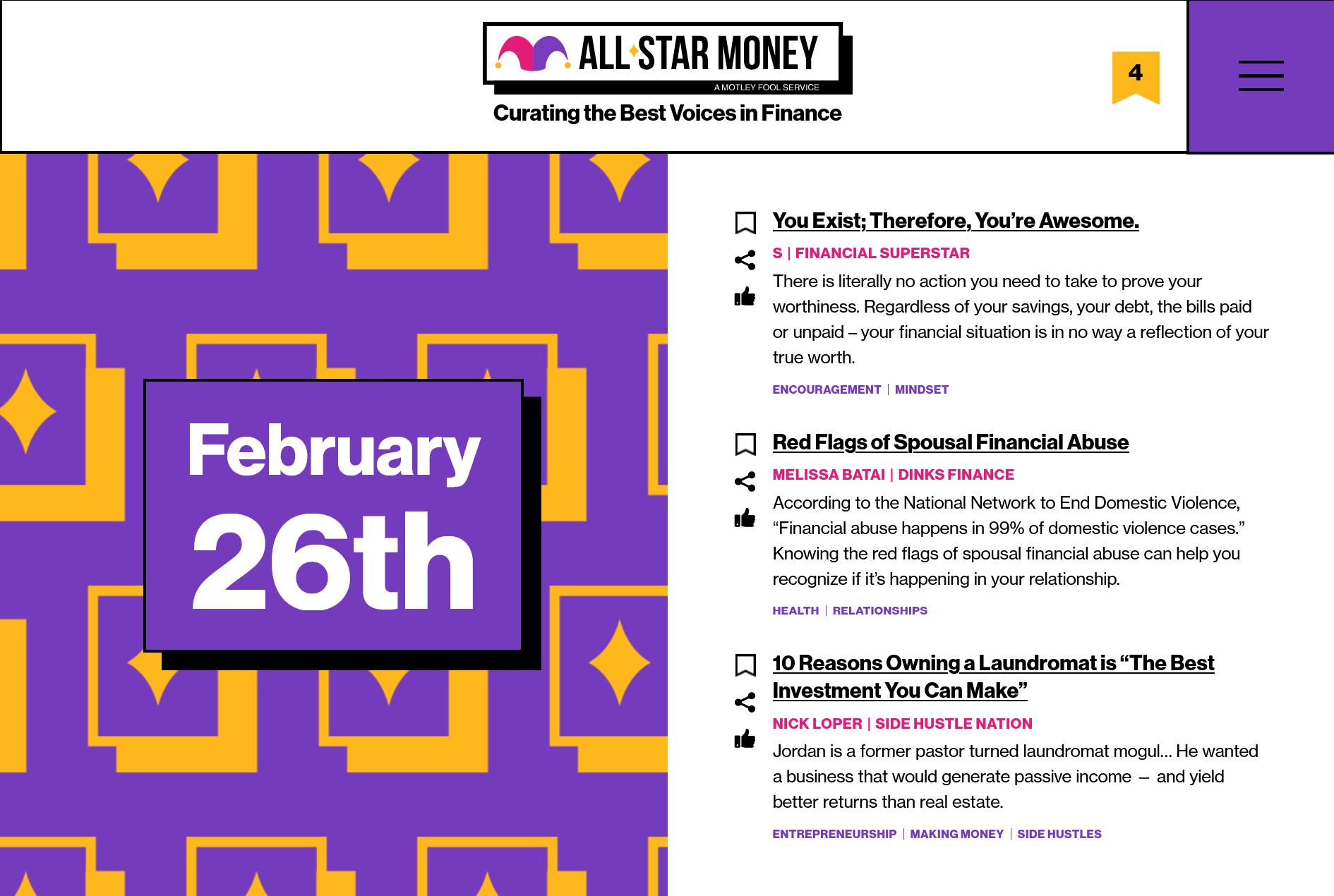 All-Star Money screenshot