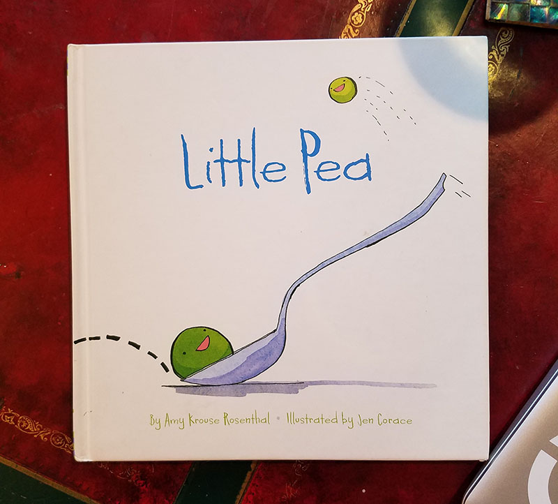 little pea book