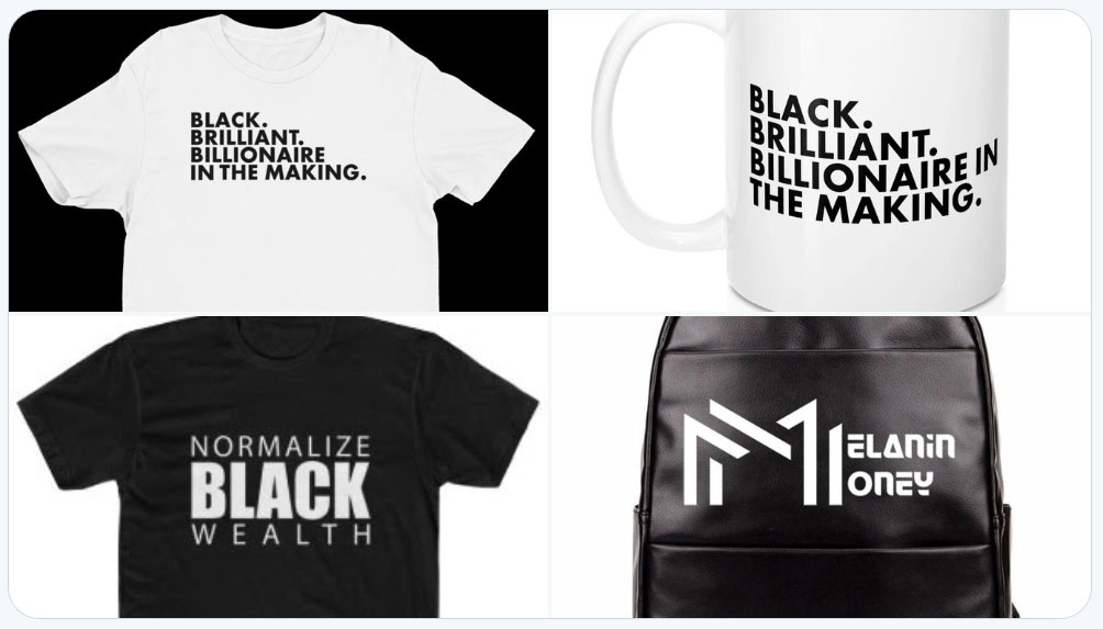 melanin money merch